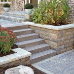 AAABloomington decorative steps and retaining walls